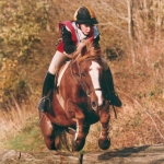 Nicky on his 14.2hh pony 'Attyman'